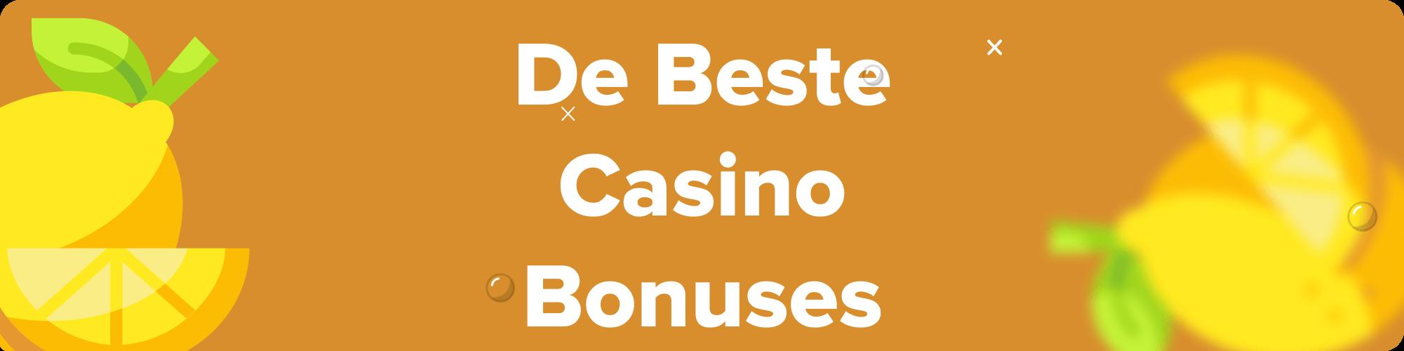 casino bonuses in legale casino's