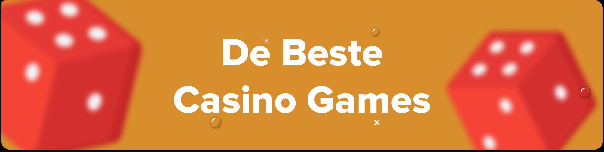 de beste online casino games